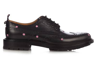 Floral brogues by Gucci