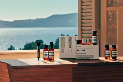 7. Aesop Departure travel kit