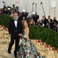 Ticking the 'Heavenly Bodies' box when arriving at the 2018 Met Gala