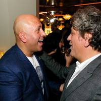 Sat Bains and Giorgio Locatelli