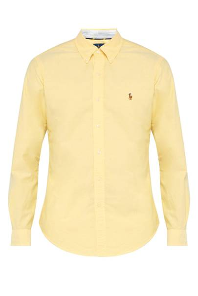 Slim-fit cotton oxford shirt by Ralph Lauren