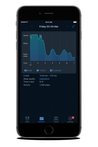 6. The app - Sleep Cycle