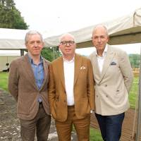 Bill Prince, Michael Wolff and Dylan Jones