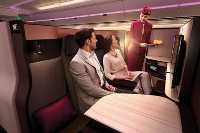 Qatar Airways launches first-ever double bed in business class