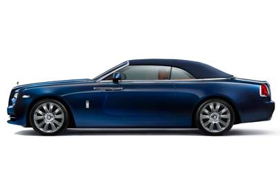 The Rolls-Royce Dawn's roof