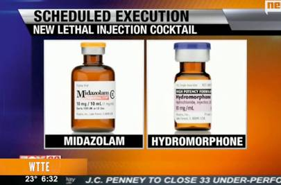 Two new drugs being used for lethal injection in Ohio
