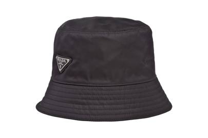 Bucket hat by Prada