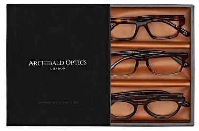 Glasses Frames Try On At Home : Try these at home: Archibald Optics glasses British GQ