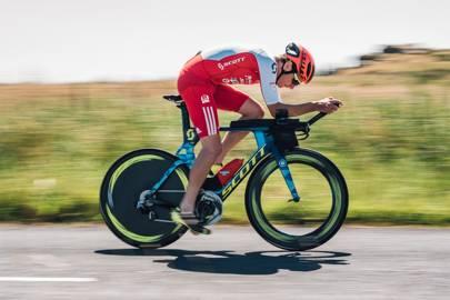 Alistair Brownlee's custom Scott Plasma (courtesy of OTE Sports)