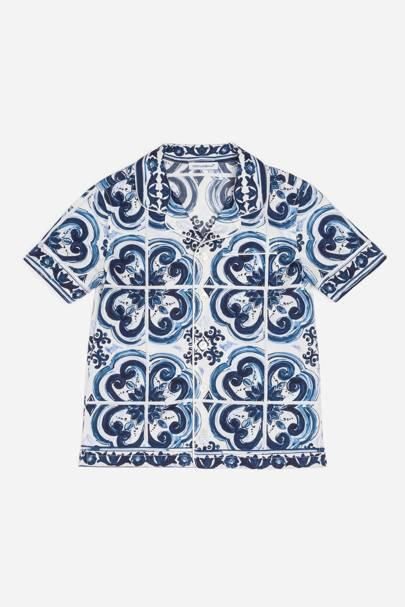 Dolce & Gabbana Bambino pyjama shirt