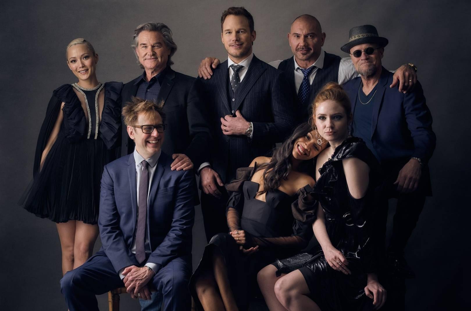 Guardians of the Galaxy Vol. 2 Cast Portfolio | British GQ