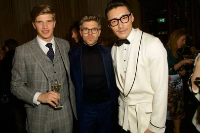 Toby Huntington-Whiteley, Darren Kennedy and Hu Bing