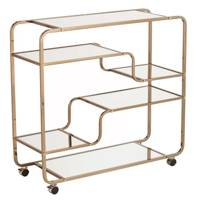 Thayer Serving Cart by Everly Quinn