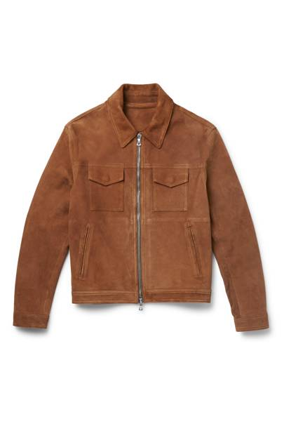 Suede western jacket by Mr P