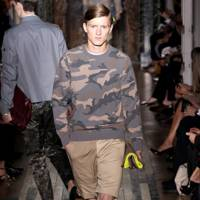 And finally...don't hang up your fatigues - Valentino