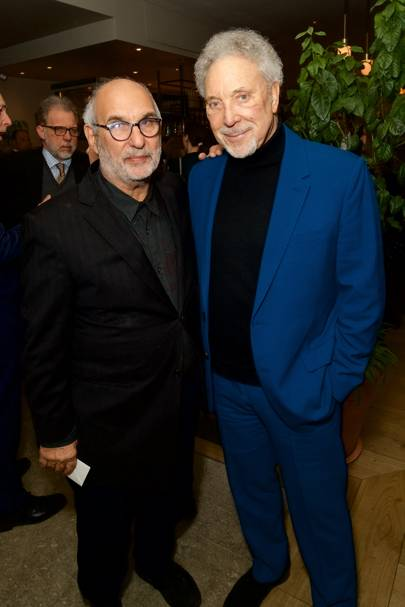 Alan Yentob and Tom Jones