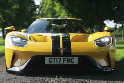 Ford Gt First Test Drive On Uk Roads