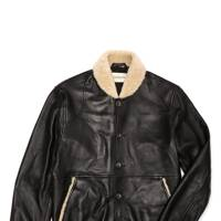 Oliver Spencer 'Bedford' leather jacket