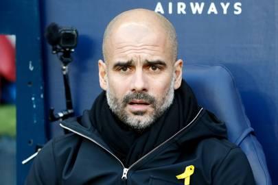 Pep Guardiola's big mistake