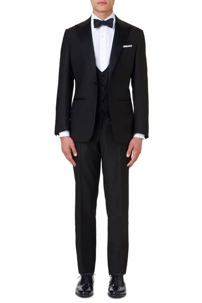 Midnight blue tuxedo by Thom Sweeney