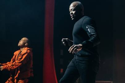 Hip hop fans go wild as Dr Dre joins Anderson .Paak on stage in London