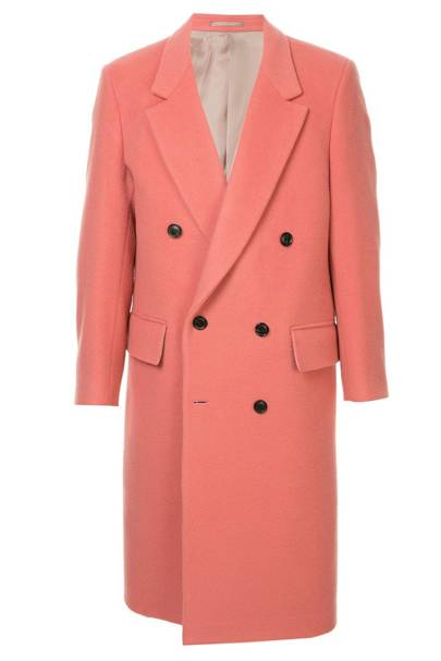 Cerruti 1881 longline double-breasted coat