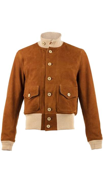 A1 Jacket in Suzy Suede by Chapal