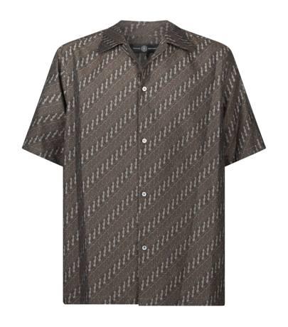 Jacquard shirt by Edward Crutchley