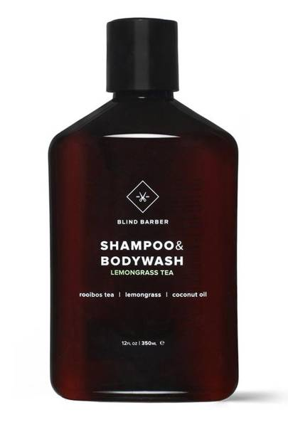 Shampoo and body wash by Blind Barber
