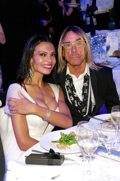 Iggy Pop and Nina Alu