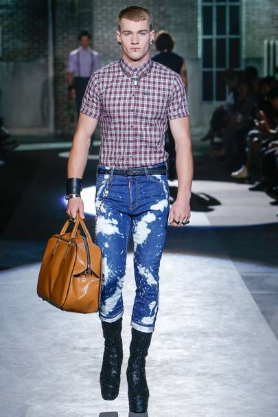 Milan Fashion Week S S 17 Dsquared2 Goes Heavy On The