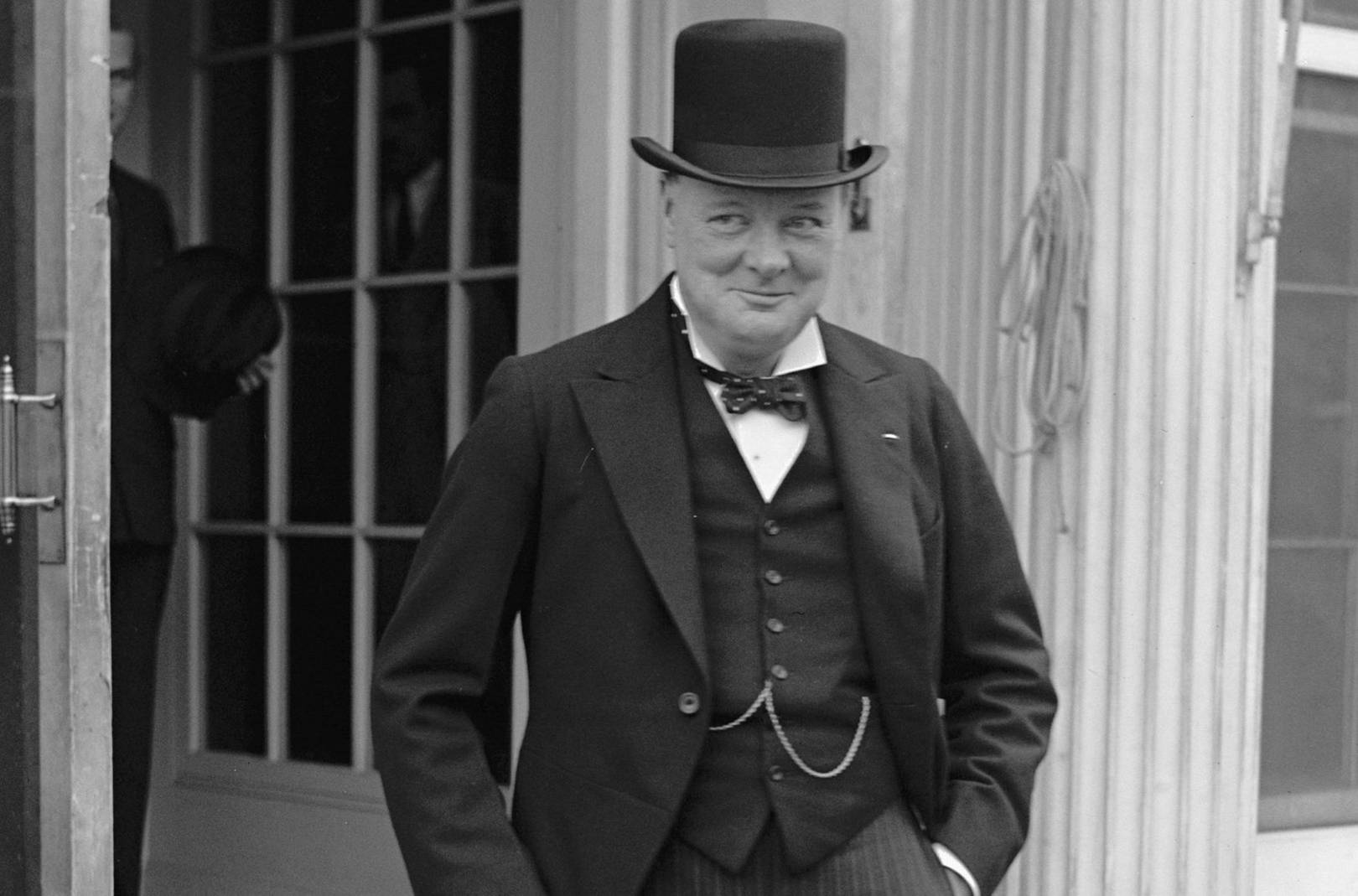 Image result for winston churchill bow tie