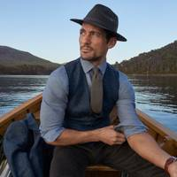 51d9c5883c Your first look at David Gandy's new beachwear line for M&S | Marks ...