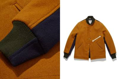 Golden Bear x Garbstore stadium jacket