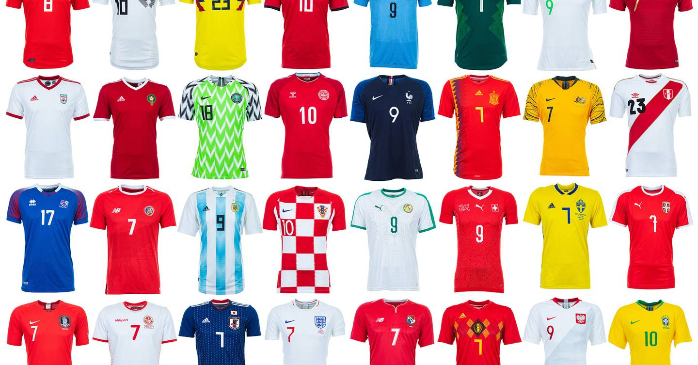 World Cup 2018 kits ranked  from worst to best  abd5a90c1