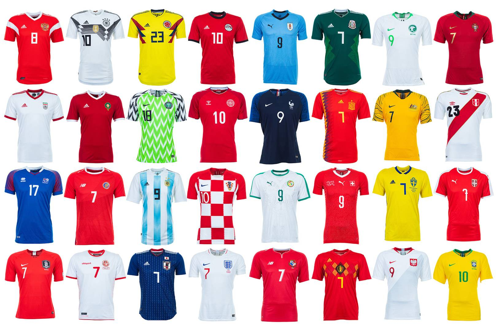 e98521e3d World Cup 2018 kits ranked  from worst to best