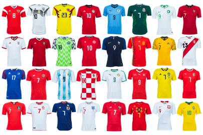 World Cup 2018 kits ranked  from worst to best  dec3c5dc3