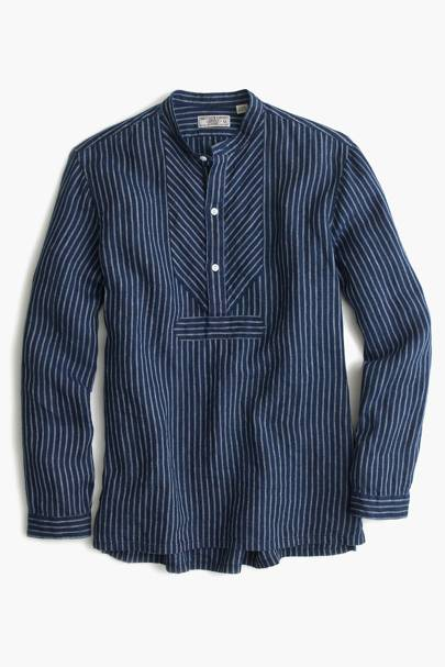 Wallace & Barnes Irish linen shirt