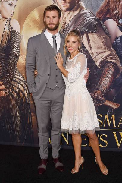 An ethereal energy at the premiere of The Huntsman: Winter's War