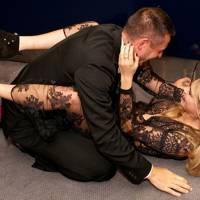 Cara Delevingne and Jonathan Saunders