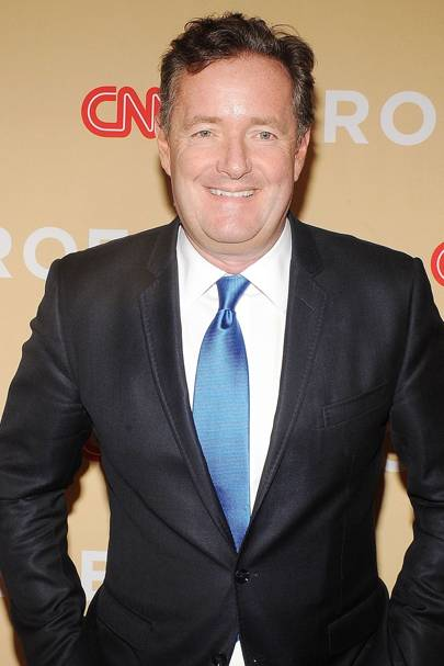 Media and publishing: Piers Morgan