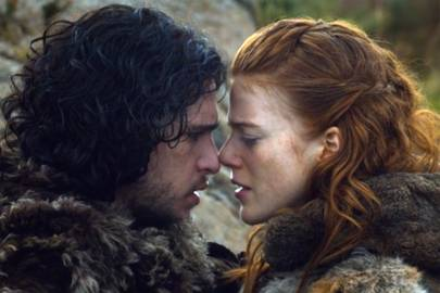 6. Jon Snow and Ygritte