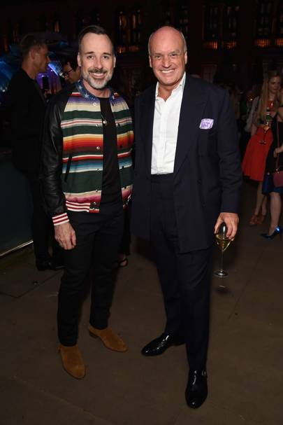 David Furnish and Nicholas Coleridge