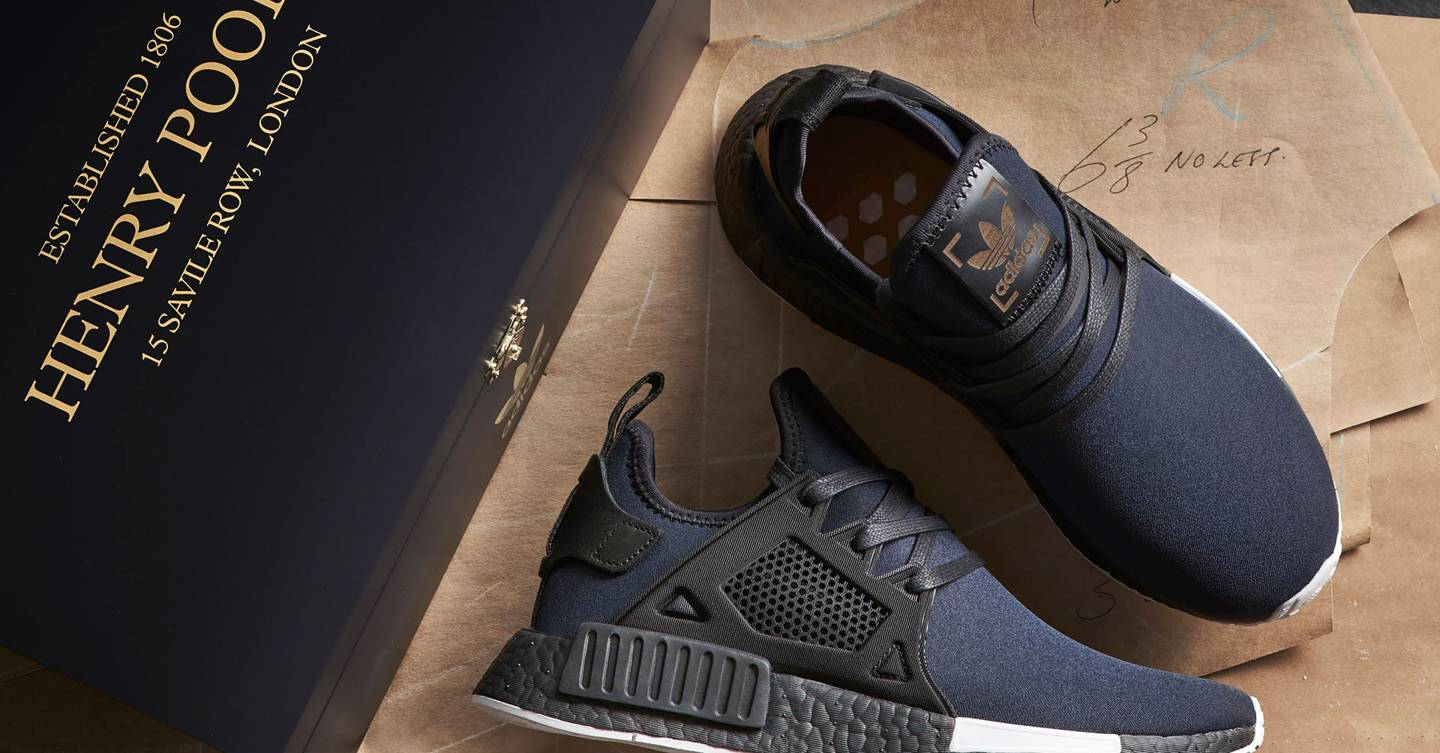 Adidas' NMD trainers get the Savile Row treatment