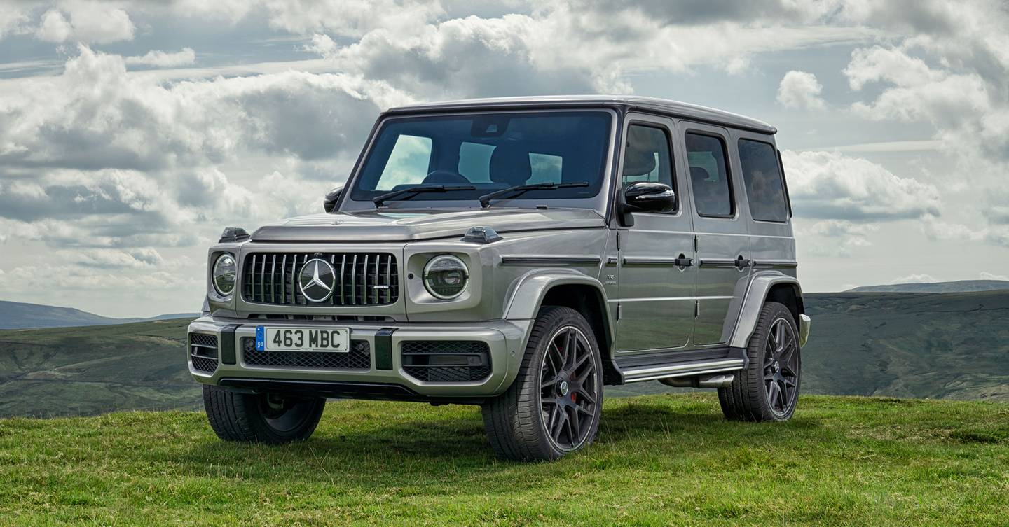 Mercedes-AMG G63: utterly badass and completely bonkers