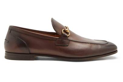 Jordaan leather loafer by Gucci, £540