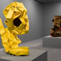 9) Carol Bove at David Zwirner Gallery