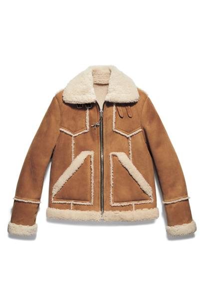 The shearling coat