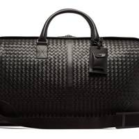 Intrecciato leather holdall by Bottega Veneta