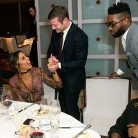 Marvin and Rochelle Humes, Dermot O'Leary and Tinie Tempah
